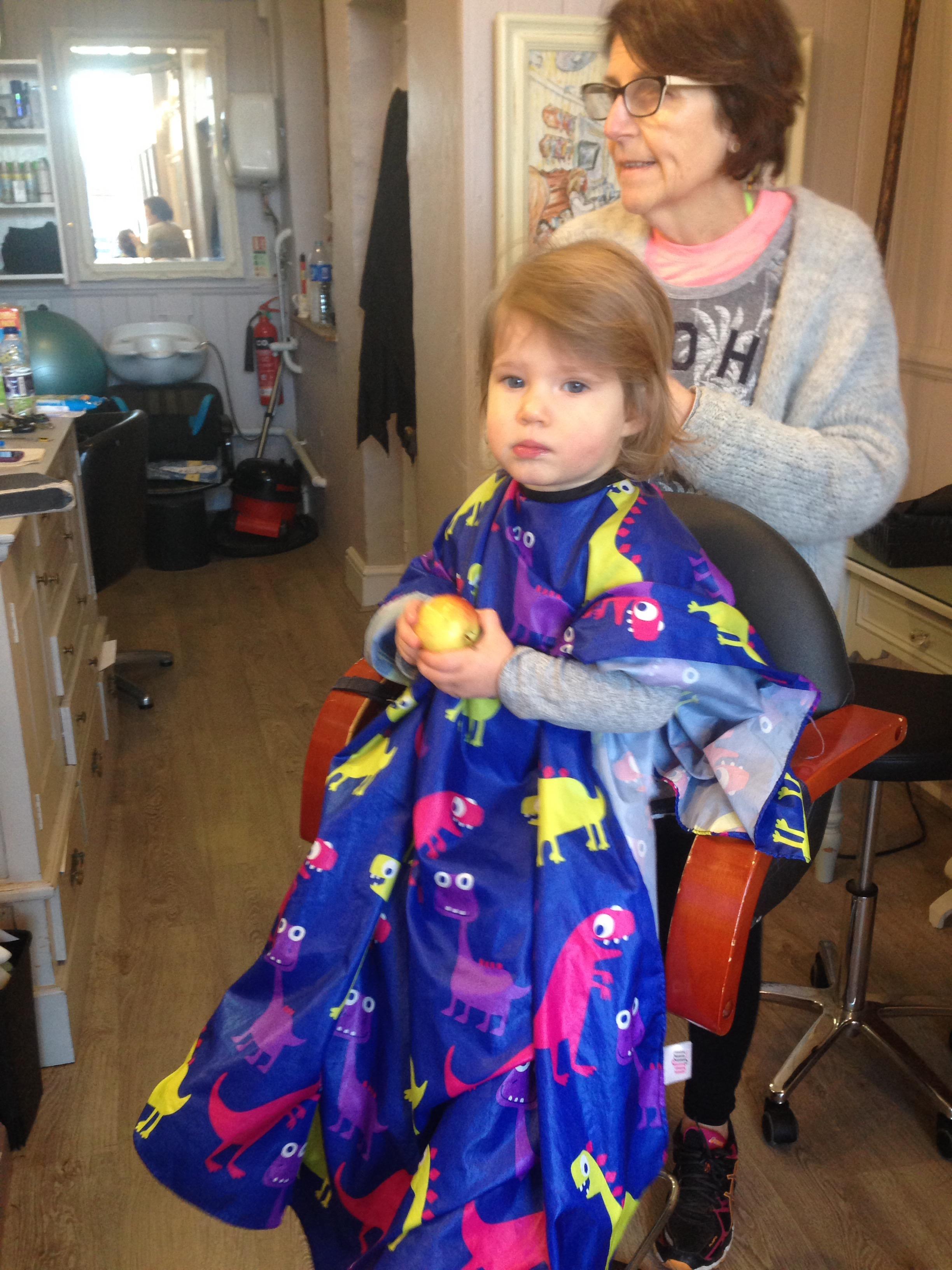 Addies First Haircut Our English Home